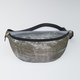Small wave Fanny Pack