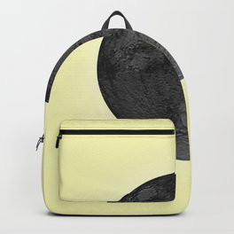 BLACK MOON + CANARY YELLOW SKY Backpack