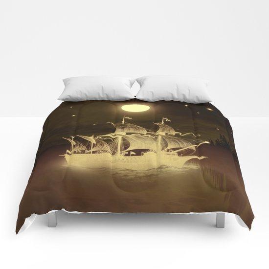 Viaje nocturno. Comforters