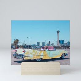 San Fran Car Mini Art Print