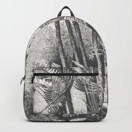 Palms in Water Backpack