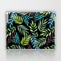 Tropical leaf pattern. Watercolor Laptop & iPad Skin