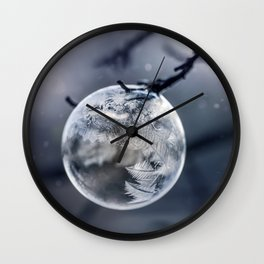 When the world freezes Wall Clock