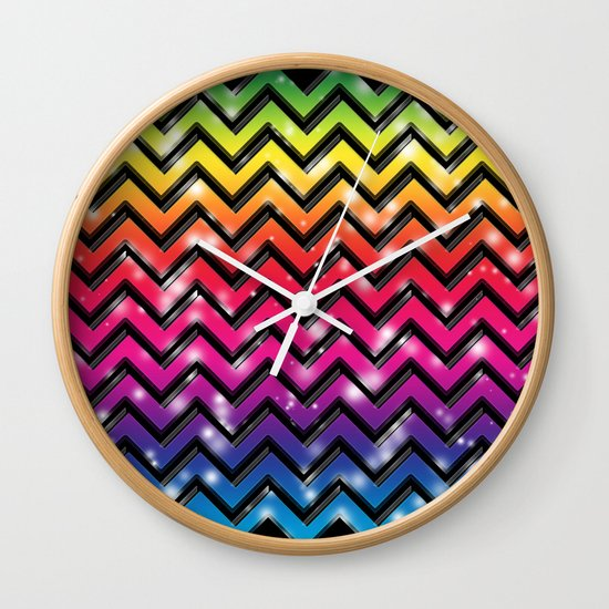 Rock Down To Electric Avenue. Wall Clock