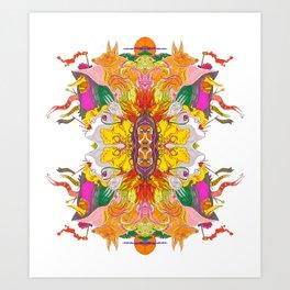 Free Psych and Mirrors - Antonio Feliz Art Print
