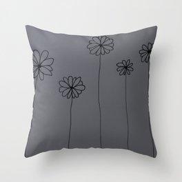 Little Daisys Throw Pillow
