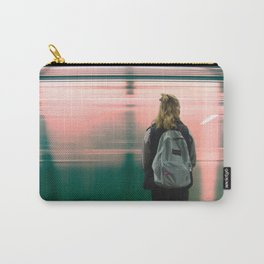 Subway Day Dreams Carry-All Pouch