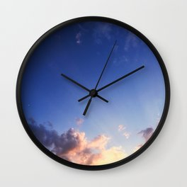 Splash of Heaven Wall Clock
