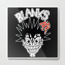 Blank 77 Metal Print