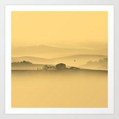 Tuscan Morning Art Print