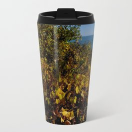 Fall Gold on the Lake Shore (Chicago Northerly Island Collection) Travel Mug
