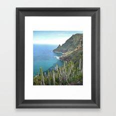 Punta del Hidalgo Framed Art Print