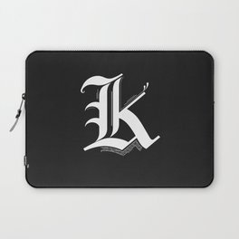 Letter K Laptop Sleeve