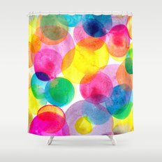 Confetti paint TWO Shower Curtain