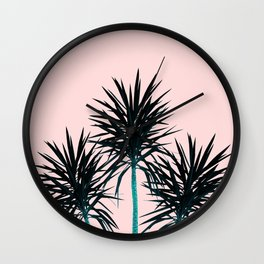 Palm Trees - Cali Summer Vibes #1 #decor #art #society6 Wall Clock