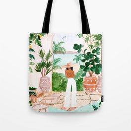 Peaceful Morocco II Tote Bag
