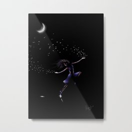 A Dancer Makes The Stars Metal Print
