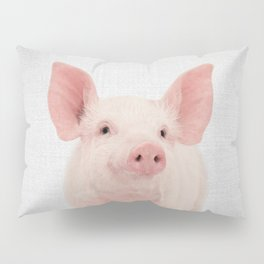 Pig - Colorful Pillow Sham