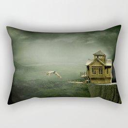 The Dive Rectangular Pillow