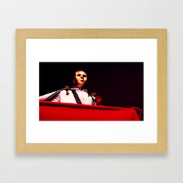 "The Game of Sand ""The Matador Moor"" Framed Art Print"