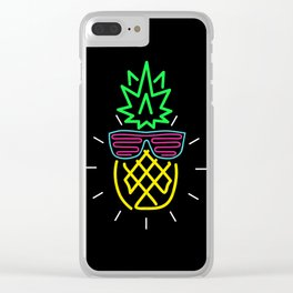 Pine For You Clear iPhone Case