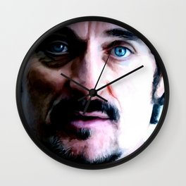 Kim Coates Large Size Portrait Wall Clock