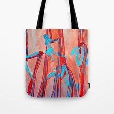 Aerial Quartet Tote Bag
