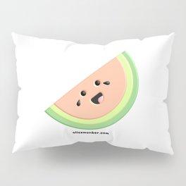 Cute Happy Watermelon Pillow Sham