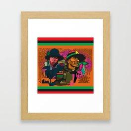 BLACKSTAR Framed Art Print