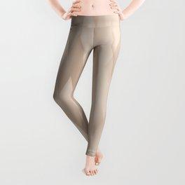 Beige Harlequin Leggings