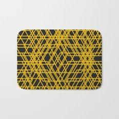 yellow net Bath Mat