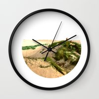 dune Wall Clocks featuring Dune by Protogami