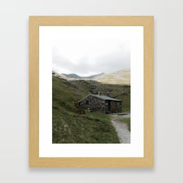 Hut Framed Art Print