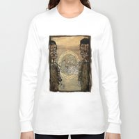 angels Long Sleeve T-shirts featuring Zombi angels by gunberk