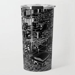 Asakusa, Japan in BW Travel Mug