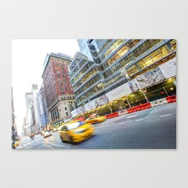 New York Street Scene Canvas Print