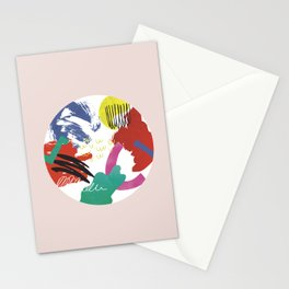 Moden Art- absrc no2 Stationery Cards