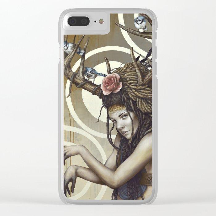 Sakari Clear iPhone Case