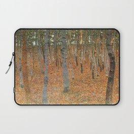 Gustav Klimt's Beech Forest Buchenwald I Laptop Sleeve