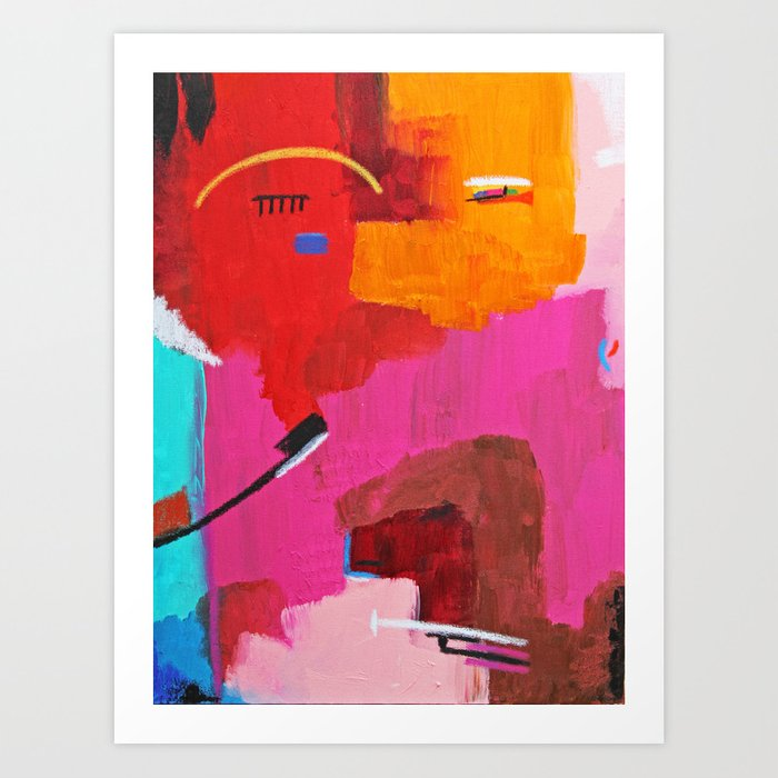 Face 1 Art Print
