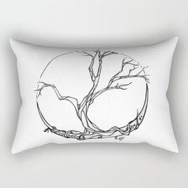 Moon tree Rectangular Pillow