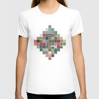 quilt T-shirts featuring Pattern Quilt by Cina Catteau