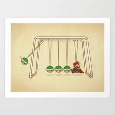 Mamma Mia! Art Print