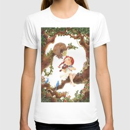 A girl playing violin T-shirt