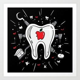 Molar Imagery   Dentistry Art Print