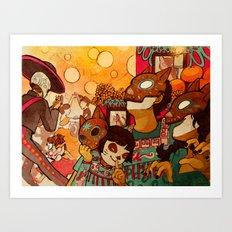 Naguals Art Print