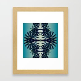 Palms in Cali Framed Art Print