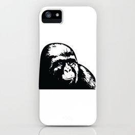 Jimmy Rustle Gorilla iPhone Case