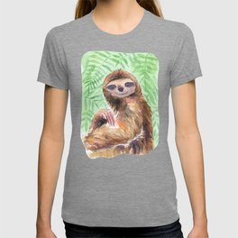 Jungle Sloth T-shirt