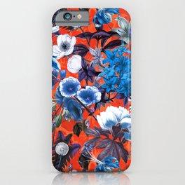Romantic Garden IX iPhone Case